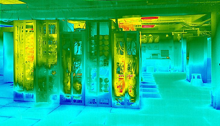 Datacenter thermal image