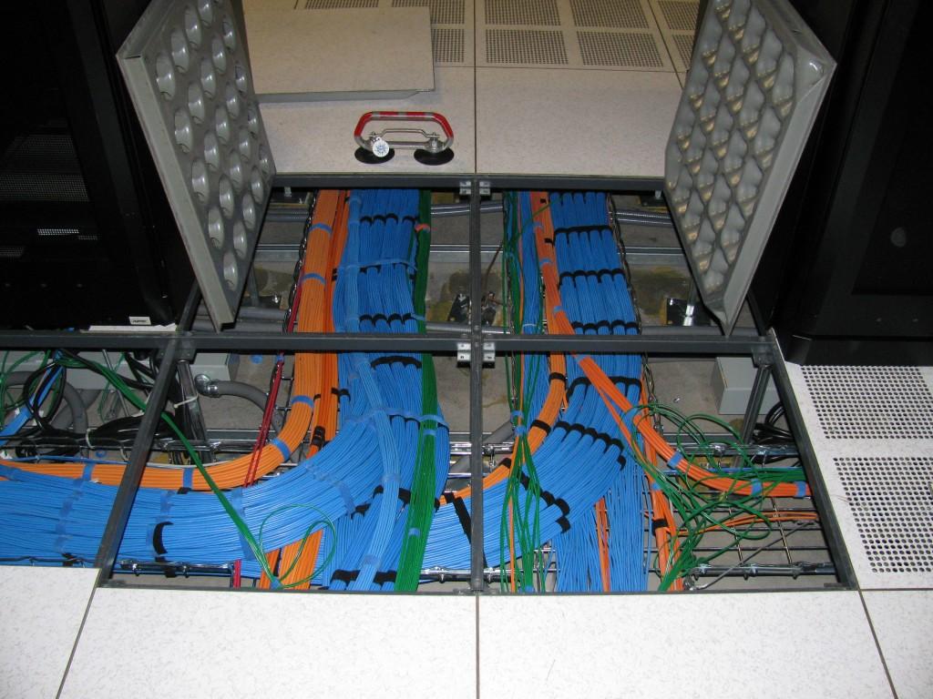 Raised floor datacenter