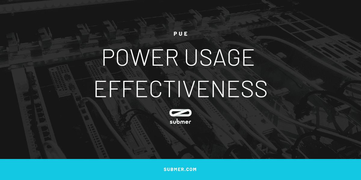 Power Usage Effectiveness