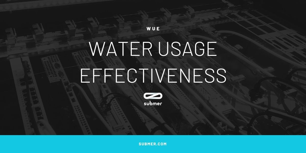 water usage effectiveness