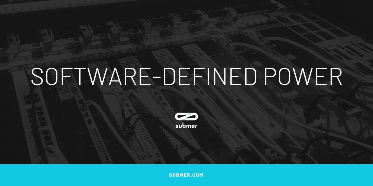 software-defined power in datacenter