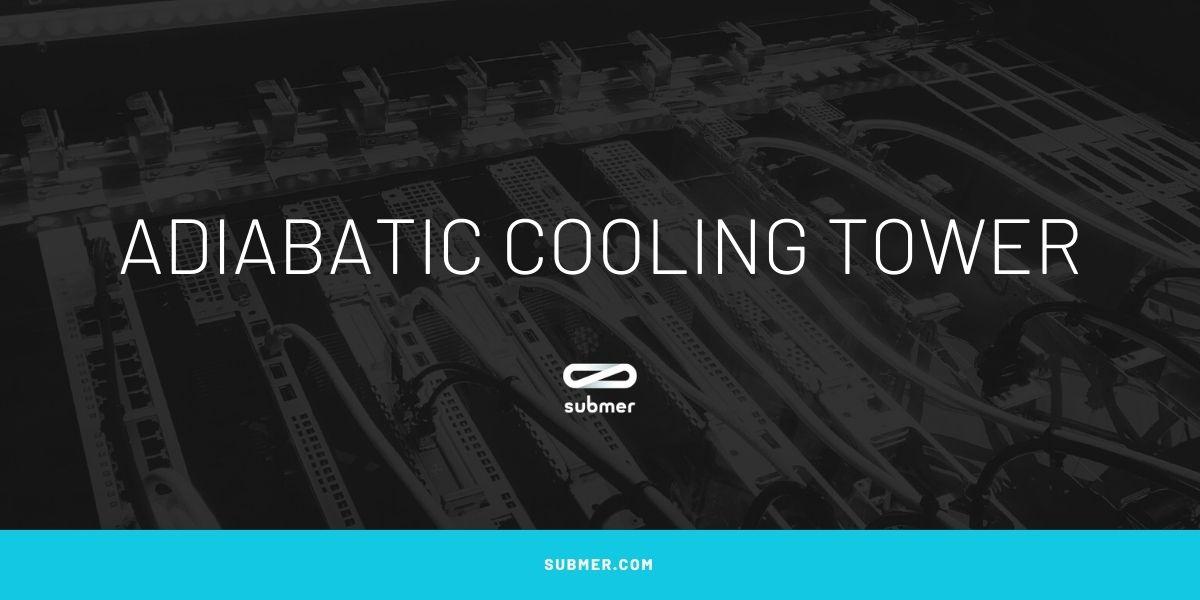 Adiabatic cooling system