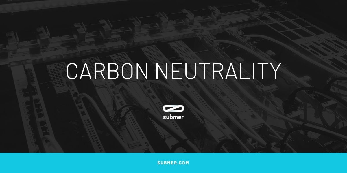 What does carbon neutrality means