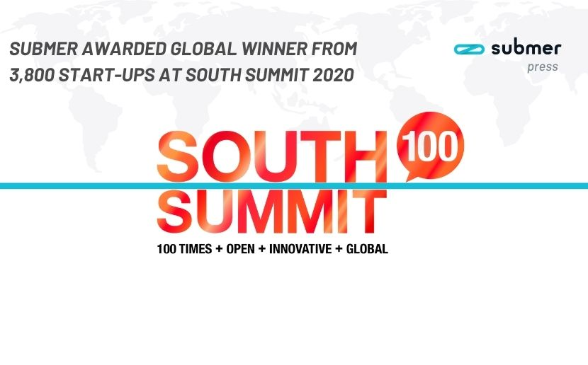 Best start-up award at the 2020 South Summit