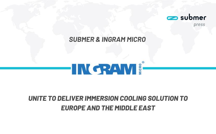 submer and Ingram Micro