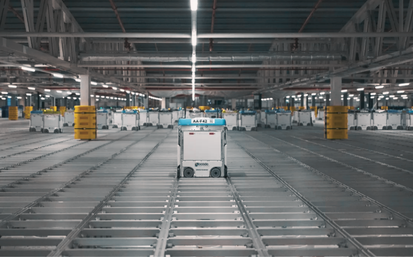 industry 4.0 and submer warehouse