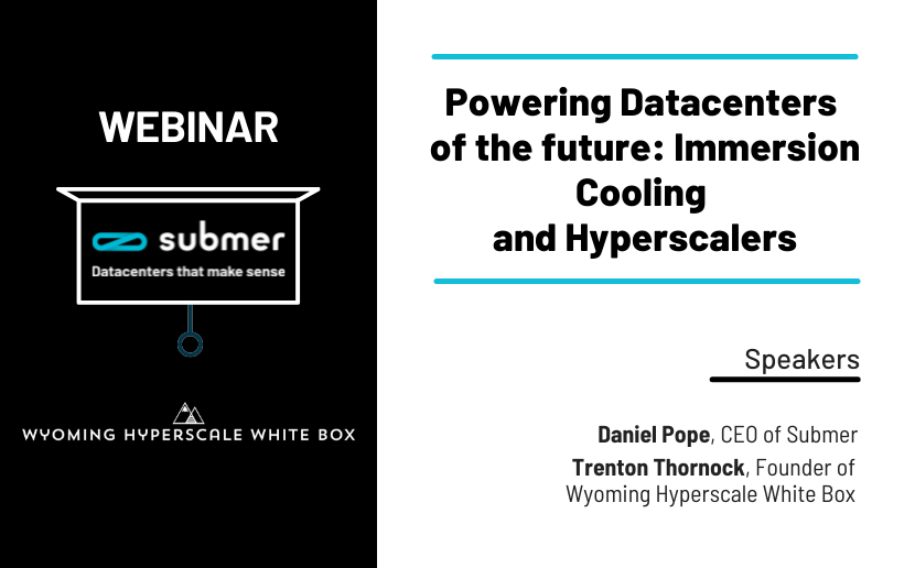 Powering Datacenters of the future: Immersion Cooling and Hyperscalers