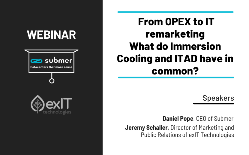 exIT Technologies and Submer webinar