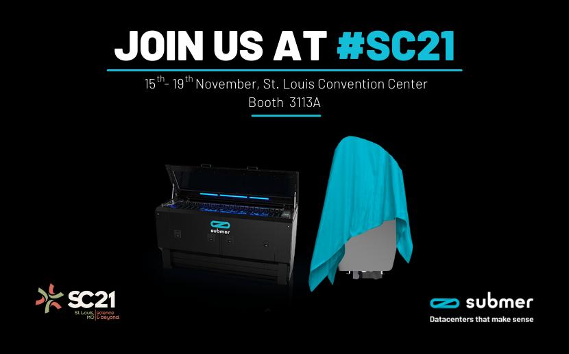 Meet the Submer Team at SC21
