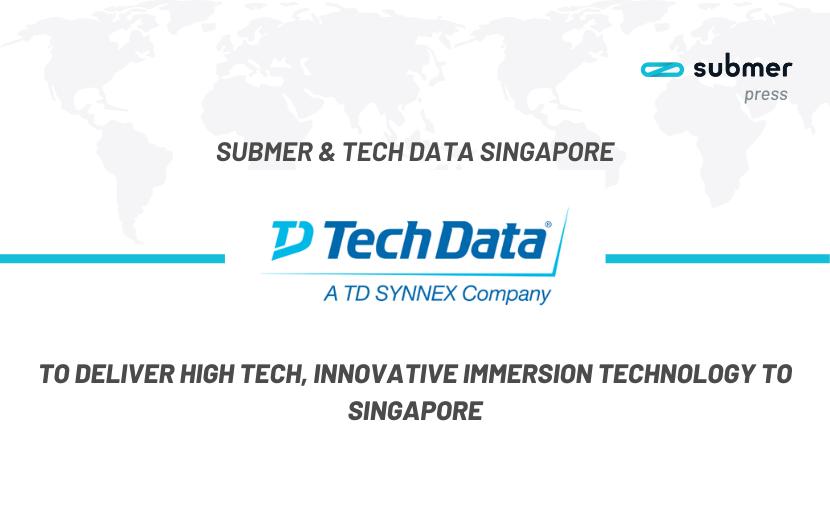 Tech Data and Submer Singapore Partnership